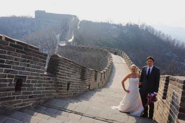 Brett & Amelia's World Wedding Tour: The Great Wall of China, Beijing!