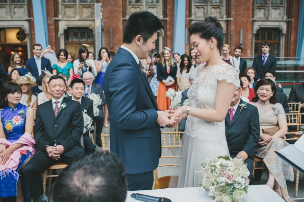Vintage Travel Wedding at Kings Cross St Pancras Station: Lishan & Ang