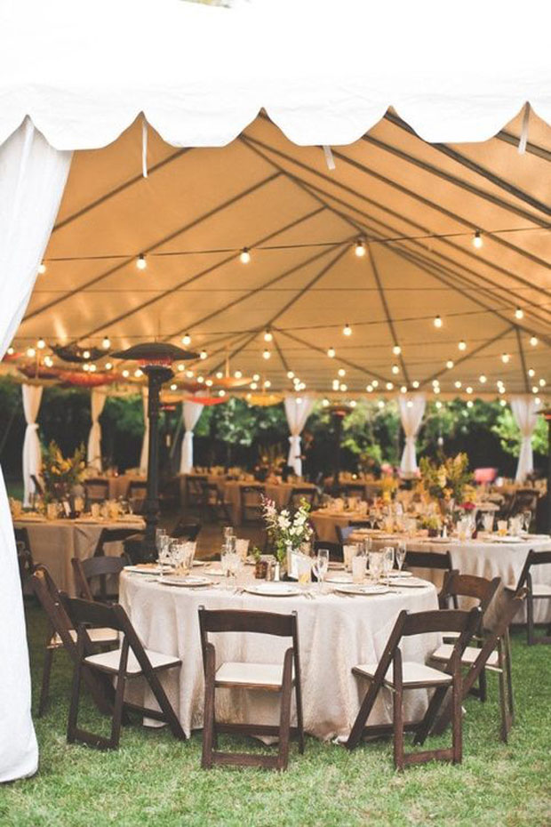 marquee wedding venue