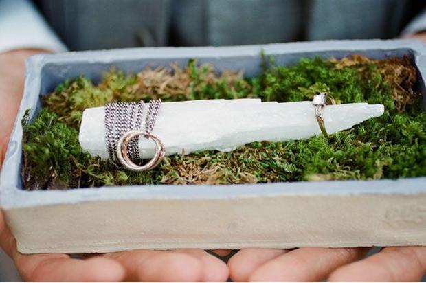 organic quartz wedding inspiration