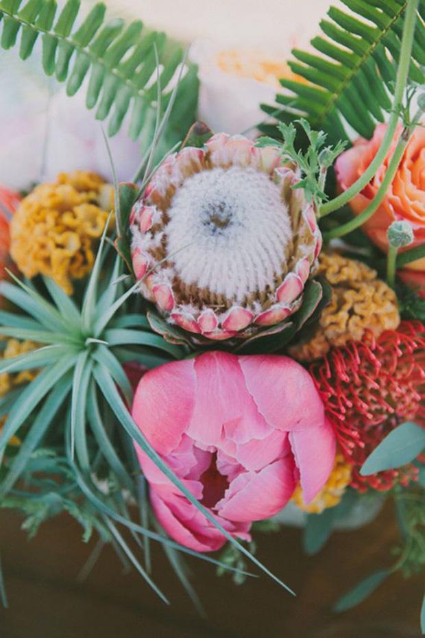 palm spring flower inspiration