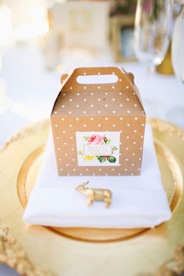 polka dot wedding decor
