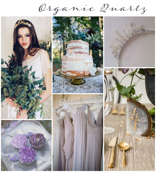 Organic Quartz Wedding Inspiration