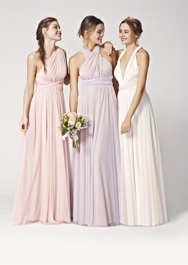 5ecf7e4ac6e Brand New! Two-birds Tulle Convertible Bridesmaids Dresses  Spring 2015