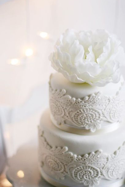 White on White Wedding Inspiration: Colour Ideas