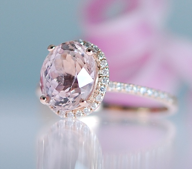 Captivating Beautiful Rose Gold Engagement Rings
