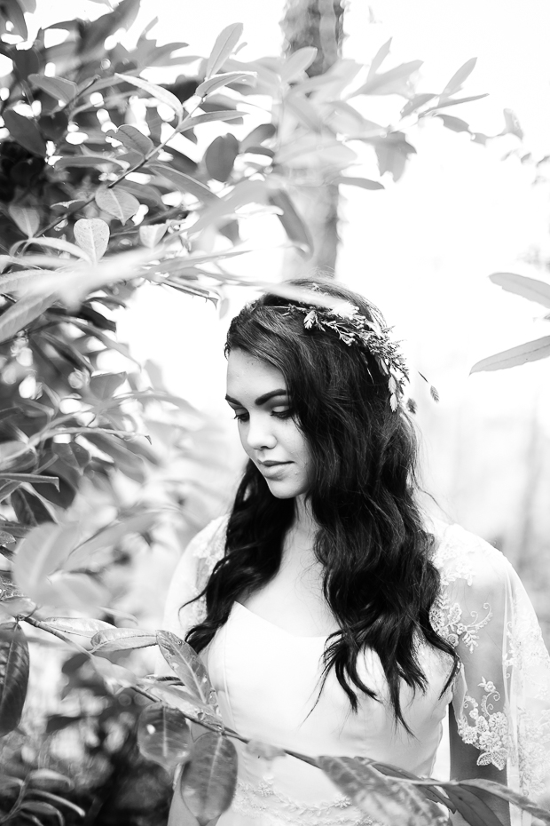 'The Huntress' Beautiful Spring Bridal Shoot by Sarah Foy Designs