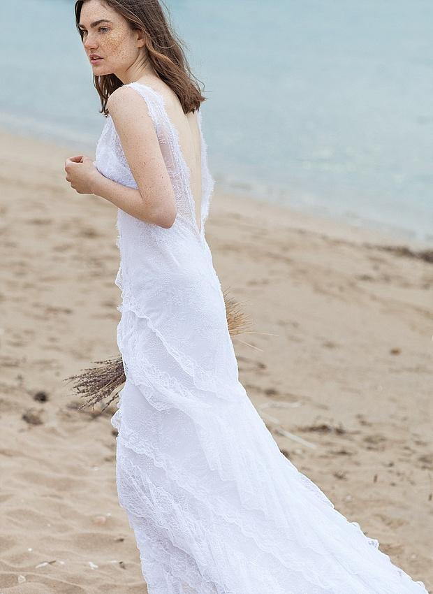 Chic & Daring Boho Wedding Dresses: Costarellos Bridal 2016!