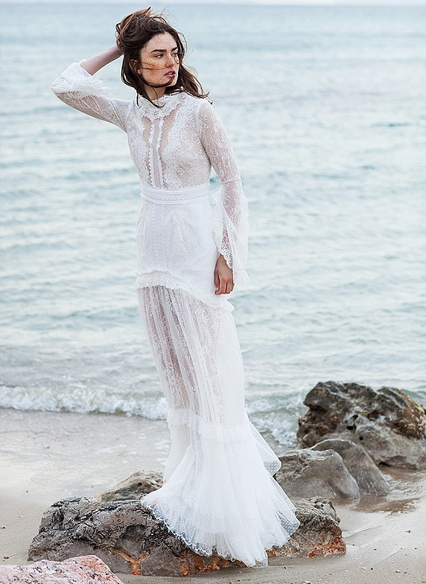 Chic & Daring Boho Wedding Dresses: Costarellos Bridal 2016!