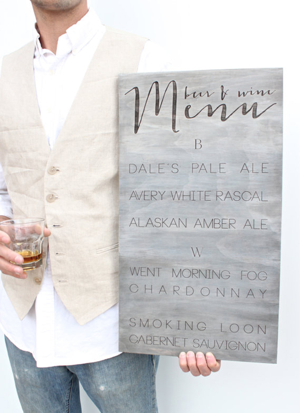 30 Wedding Signs You Need At Your Wedding - Just Not ALL At Once Hey!