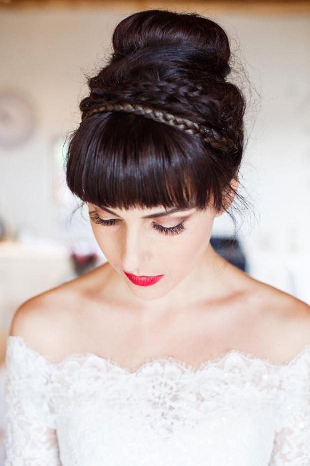 Elegant Ballerina Bun Wedding Inspiration & Ideas