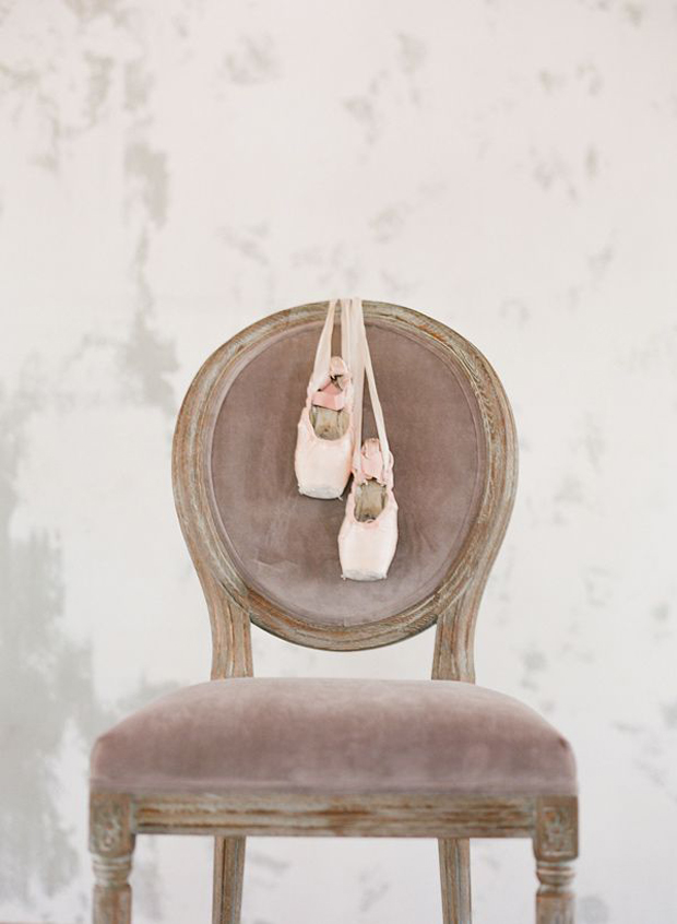 Elegant Ballerina Shoes Wedding Inspiration & Ideas