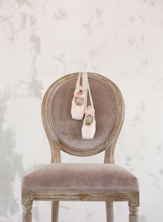 Elegant Ballerina Shoes Wedding Inspiration & Ideas