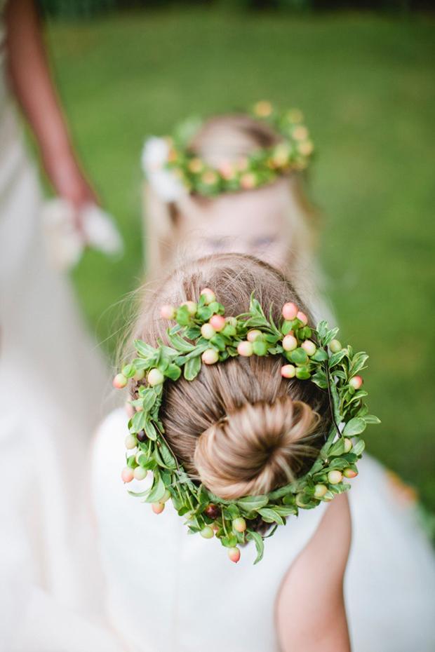 Elegant Ballerina Wedding Inspiration & Ideas Flower Girl