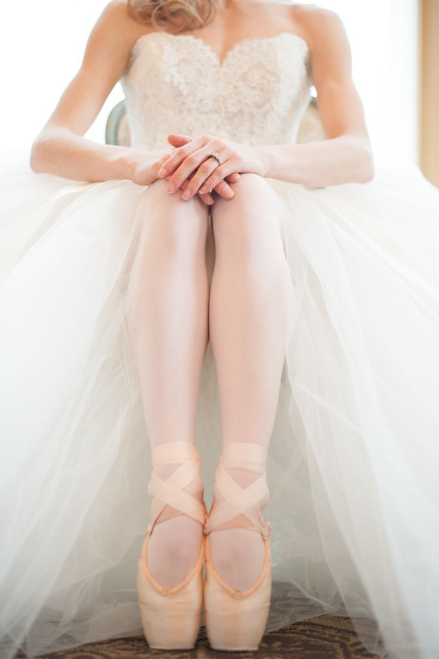 Elegant Ballerina Wedding Inspiration and Ideas