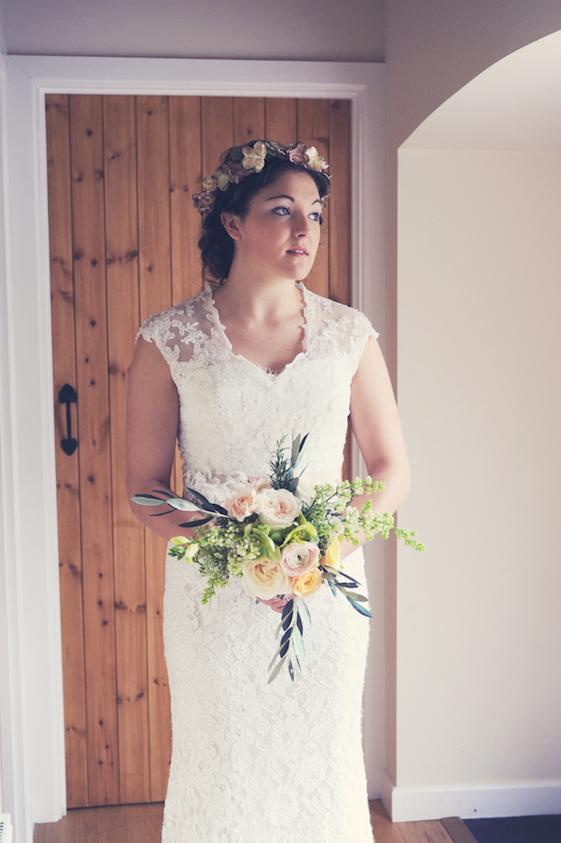 Beautiful, English Country, Cornish Garden Wedding Inspiration