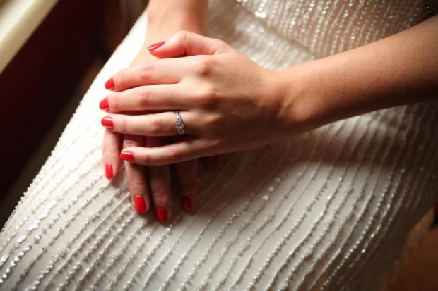 Old Finsbury Town Hall Wedding With Stunning Art Deco Anoushka G Dress: Matt & Lauren