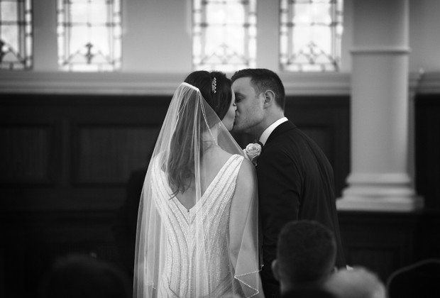 Old Finsbury Town Hall Wedding With Stunning Art Deco Anouska G Dress: Matt & Lauren