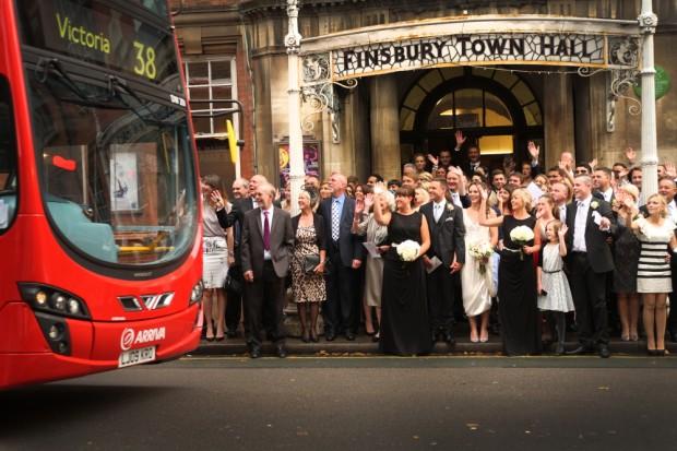 Old Finsbury Town Hall Wedding With Stunning Art Deco Anouska G Dress: Matt & Lauren