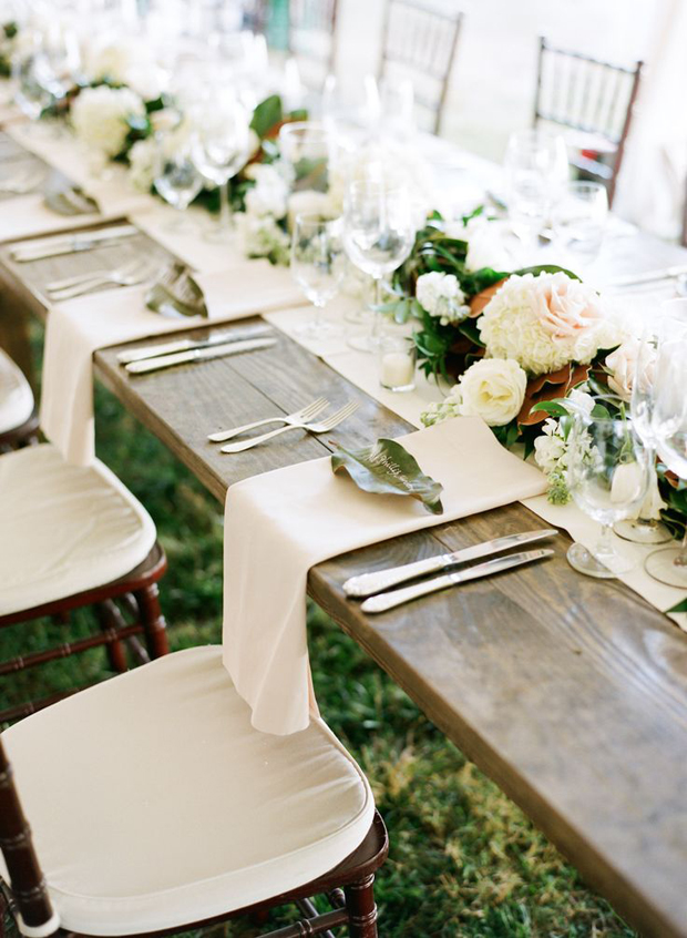 Muted Hues Wedding Table Inspiration