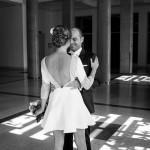 A French Fuchsia Real Wedding With Rime Arodaky Bride: Mr & Mrs L