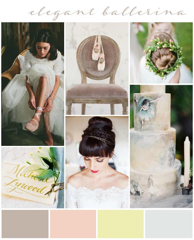 Elegant Ballerina Wedding Inspiration & Ideas