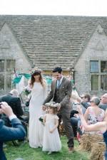 An Outdoor, Cotswold Festival Wedding: Ben & Lydia