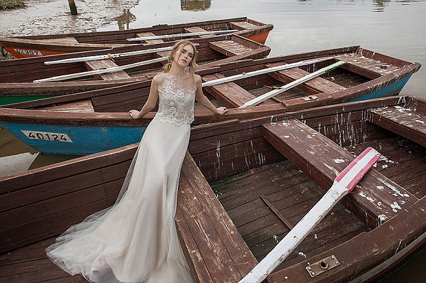 ginger1_'Urban Dreams' Limor Rosen Wedding Dresses 2015