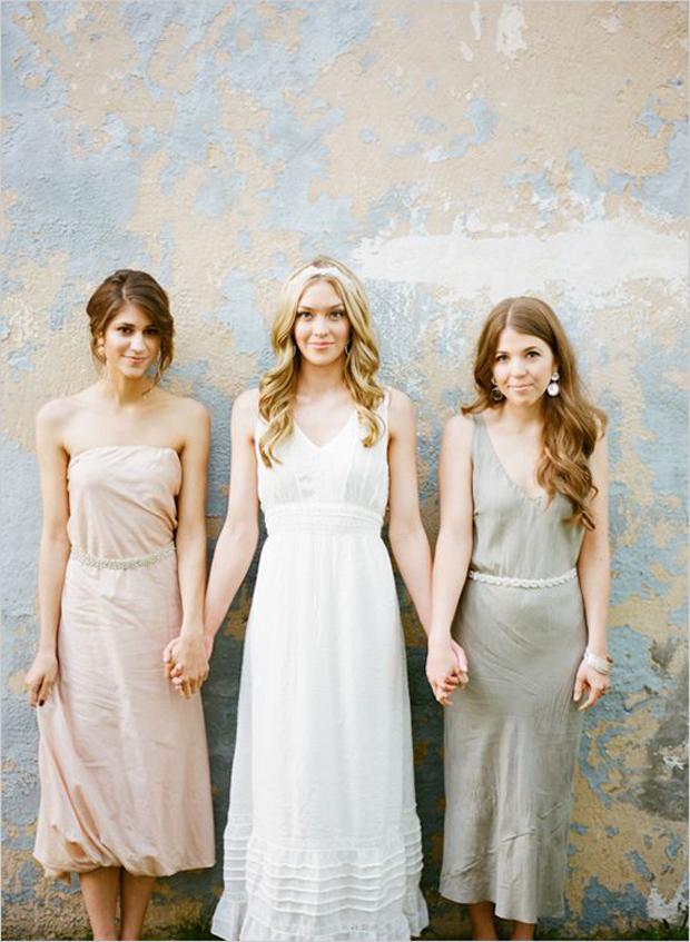 Muted Hues Inspiration: Wedding Colour Ideas