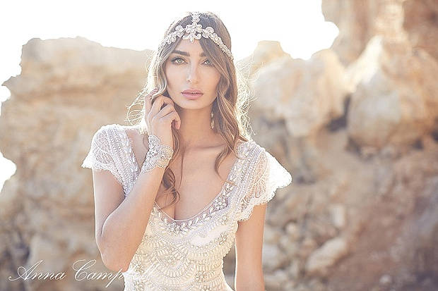 The Exquisite 'Spirit' 2016 Wedding Dress Collection by Anna Campbell