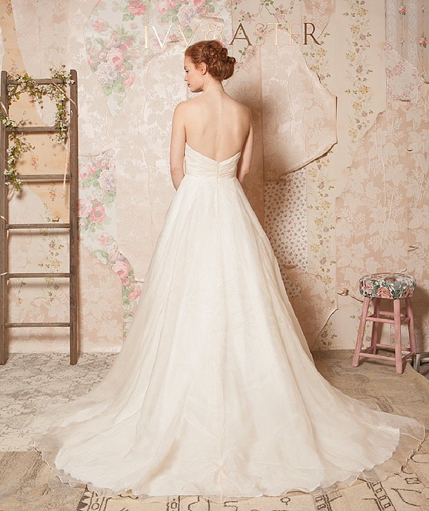 Ivy & Aster Spring 2016_0002'Through the Flowers' Spring 2016 Bridal and Accessories Collection by Ivy & Aster