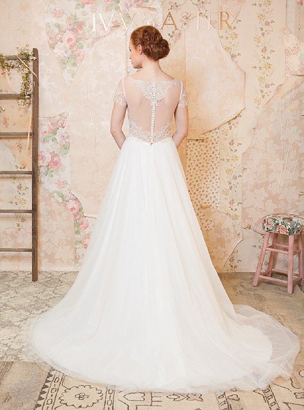 'Through the Flowers' Spring 2016 Bridal and Accessories Collection by Ivy & Aster