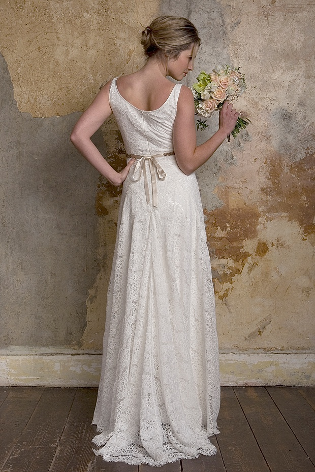 Delicate, Fresh & Unashamedly Romantic: Vintage Inspired Wedding Dreses by Sally Lacock