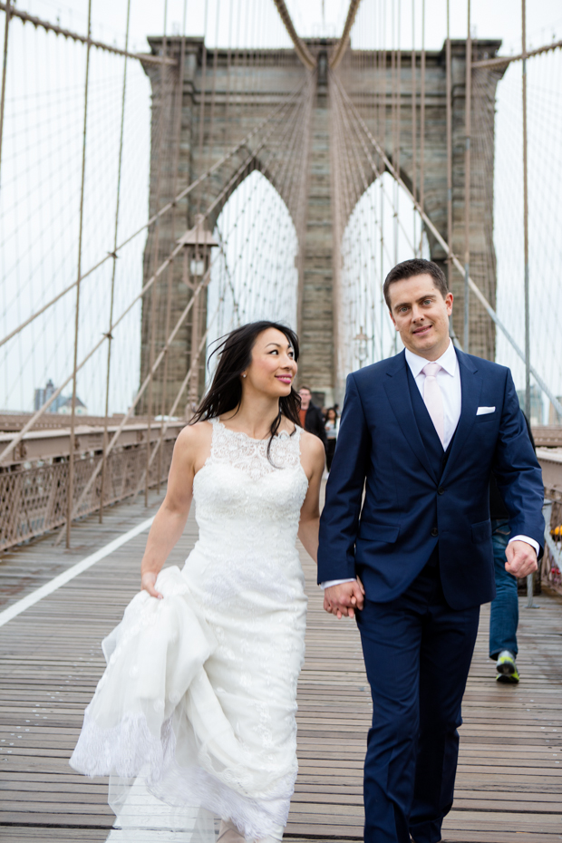 A Low Key and Intimate NYC Wedding In Central Park: Anita & Grant