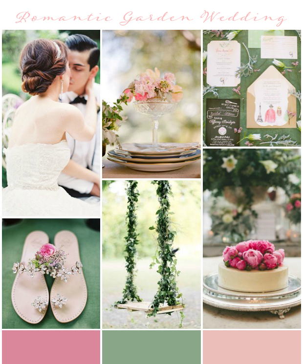 Utterly Romantic Garden Wedding Inspiration