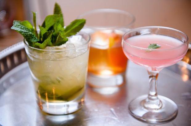 siganture cocktail drinks
