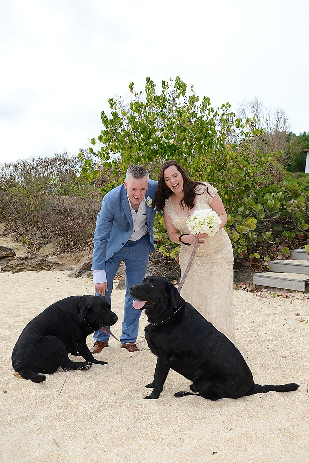 Gold, Champagne Glam Beach Vow Renewal in Antigua Sonia & Chris (45)