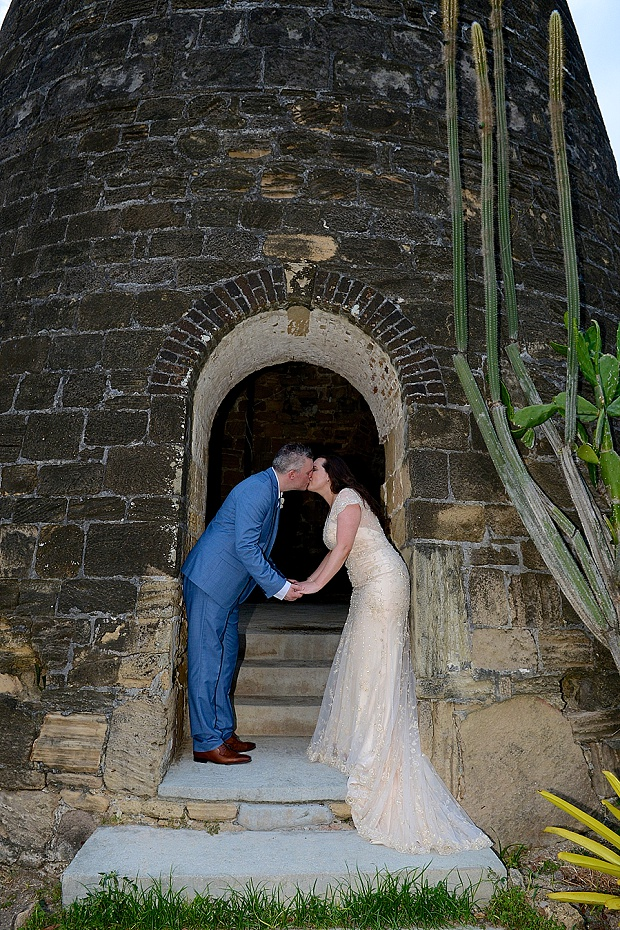 Gold, Champagne Glam Beach Vow Renewal in Antigua Sonia & Chris (55)