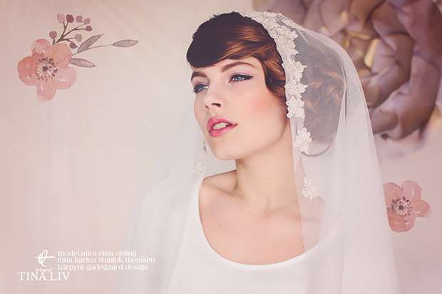 One of a Kind Hand-beaded Bridal Headpieces & Accessories by Gadegaard Design