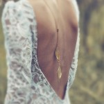 Baby Got Back! Beautiful Back Necklaces: Bridal Accessories