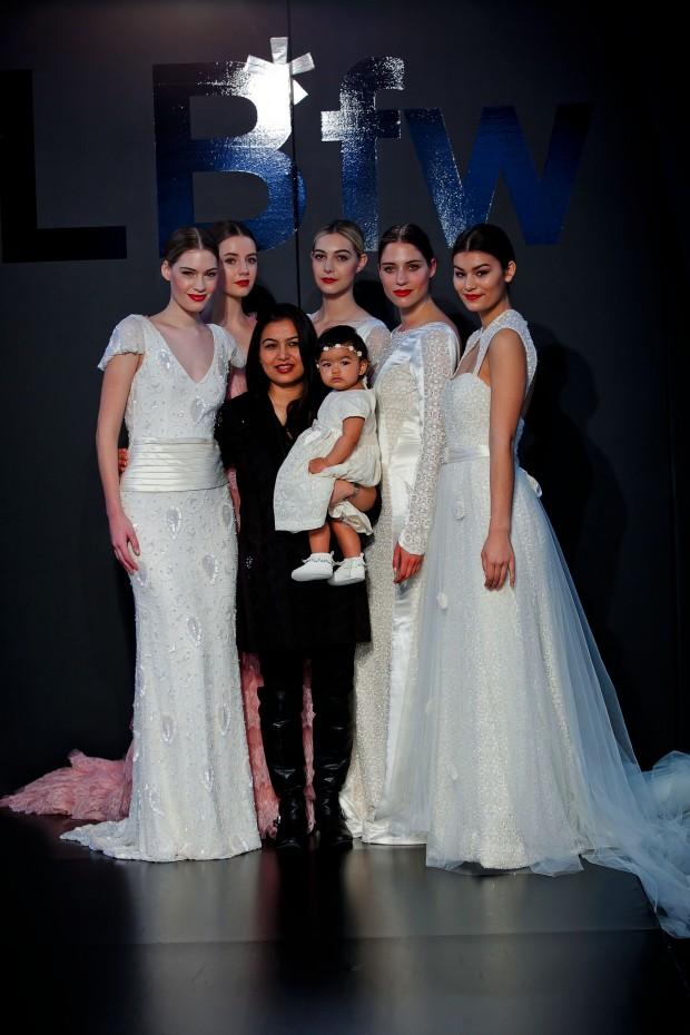 Sanuykta Shrestha with model