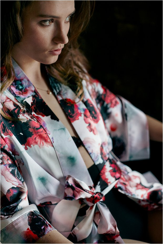 Violet & Wren Win a Luxury Silk Kimono So Beautiful For Your Wedding Morning_0012