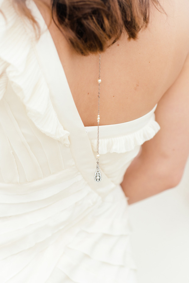 crystal backdrop necklace