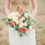 Orange, Peach & Gold Wedding Inspiration: Colour Ideas