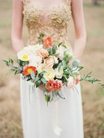 Orange, Gold & Peach Wedding Inspiration: Colour Ideas