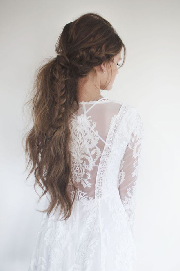 Superb Messy Hair Don39T Care 16 Messy Bridal Hairstyles That Just Don39T Short Hairstyles Gunalazisus