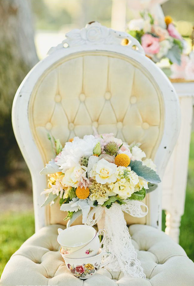 pale yellow wedding inspiration