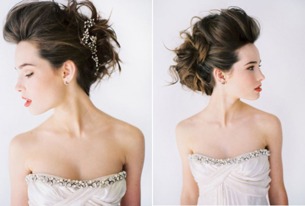 Swell Messy Hair Don39T Care 16 Messy Bridal Hairstyles That Just Don39T Short Hairstyles Gunalazisus