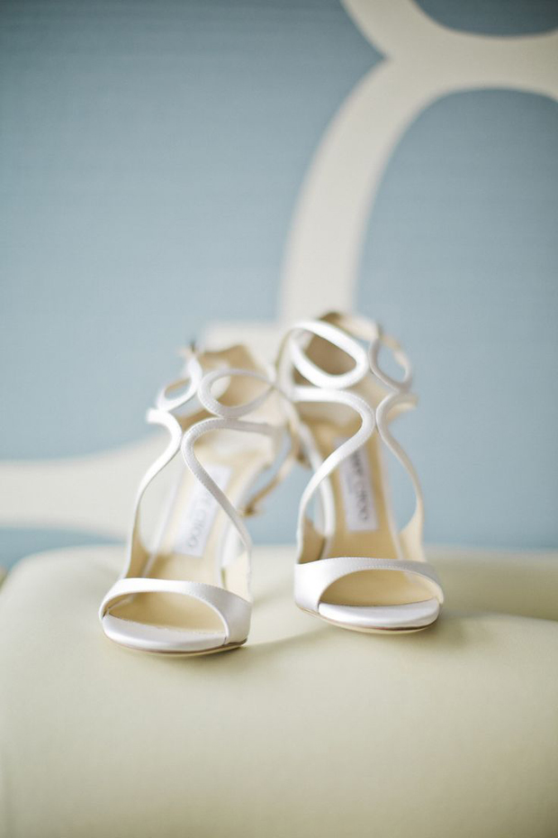 white jimmy choo wedding shoes