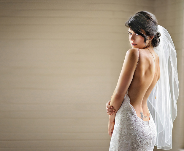 Baby Got Back! Beautiful Back Necklaces Bridal Accessories